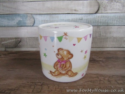 Little bear hugs collection money box