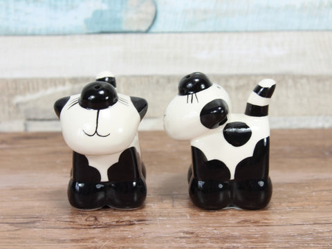 2Kewt Novelty Cat Salt & Pepper Shaker Set
