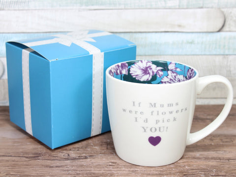 If Mums Were Flowers Inside Out Mug Gift Boxed
