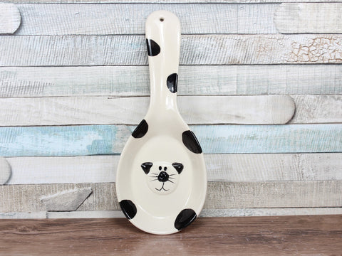 2Kewt Novelty Cat Range Ceramic Spoon Rest