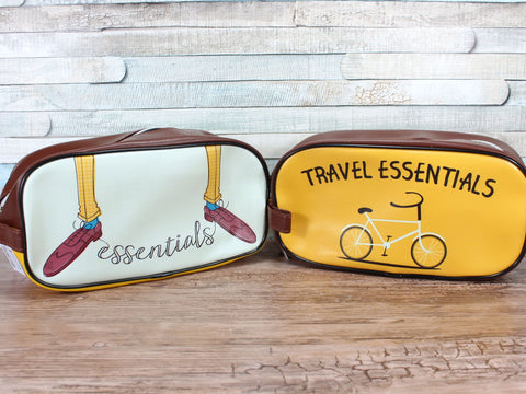 Travel Essentials Wash Bag Choice Of 2