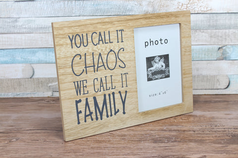 Family Saying 6x4 Photo Frame Choice of 2