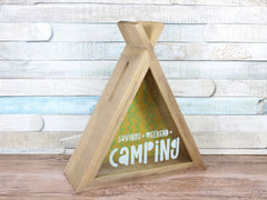 Camping Fund Teepee Money Box