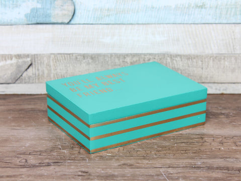 Cloud Nine Medium Secret message box Green - Best Friend