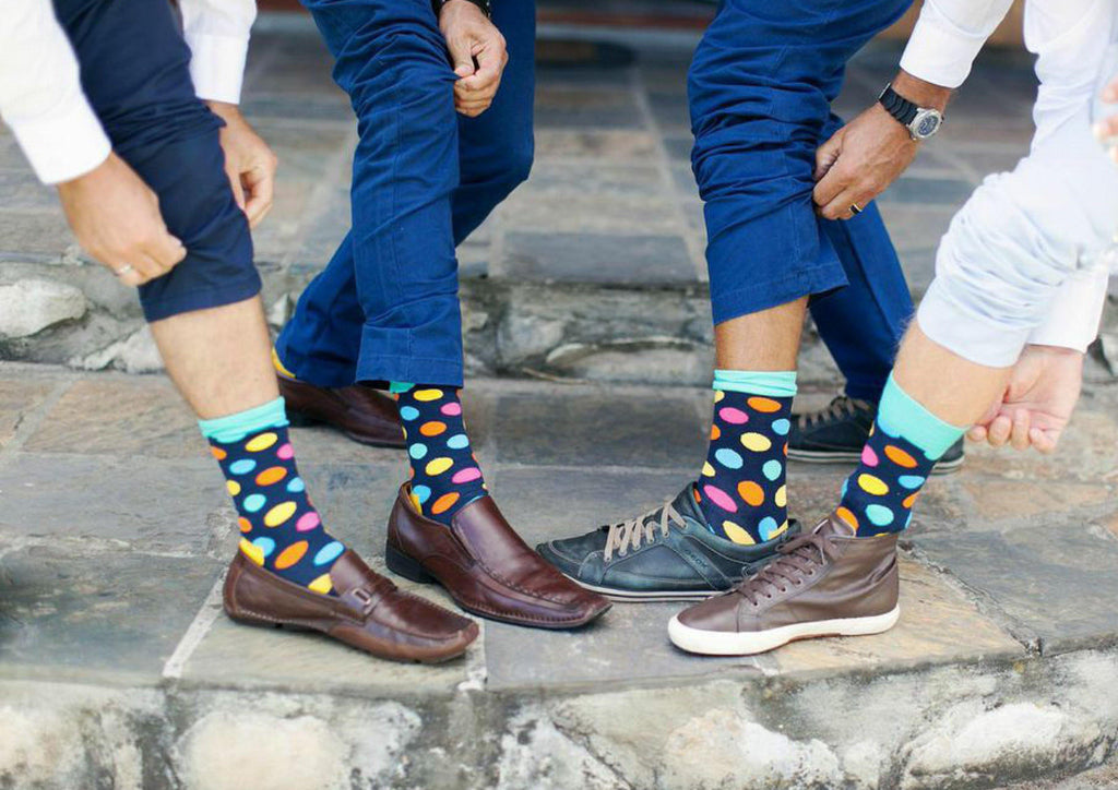 How men's socks became a symbol of wealth and intelligence