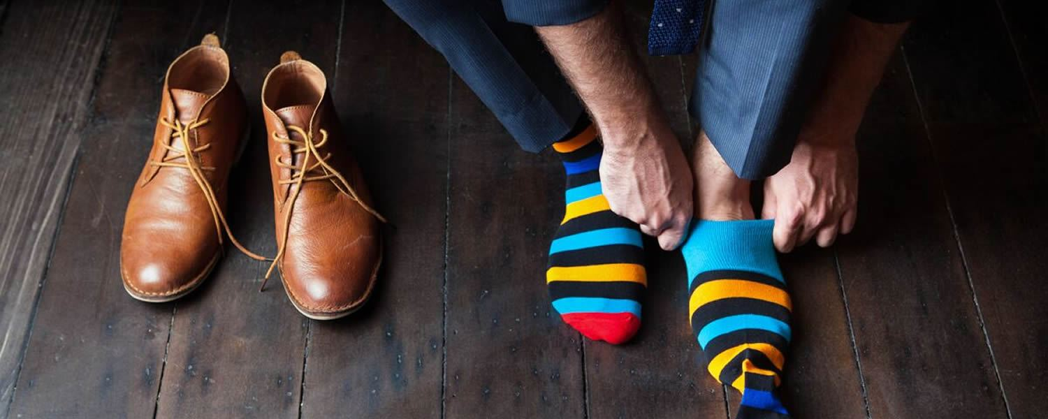 YOU'LL LOVE OUR SOCKS. WE GUARANTEE IT.