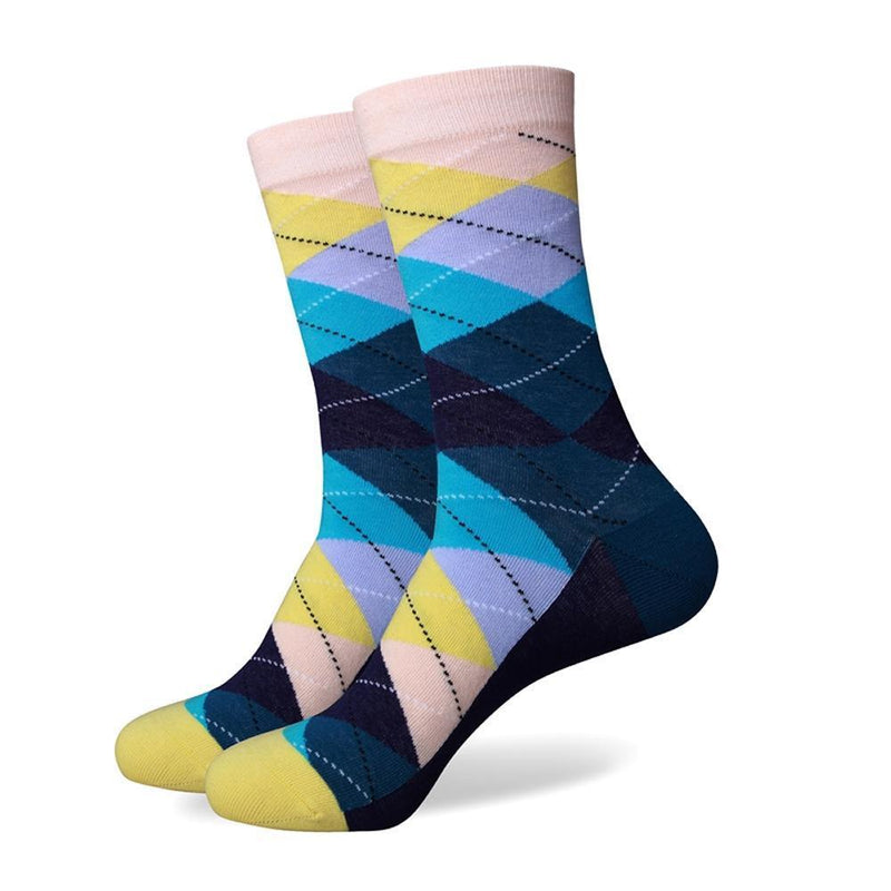 The Bank Socks | Argyle Socks | SoKKs.com