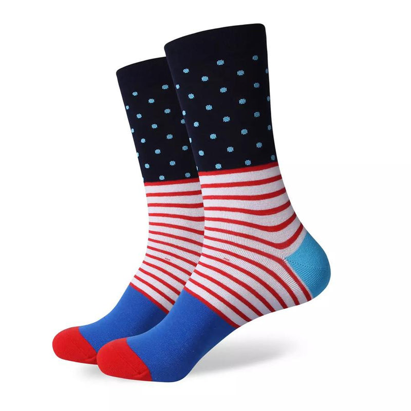 Dots & Stripes Socks | Striped Socks | SoKKs.com