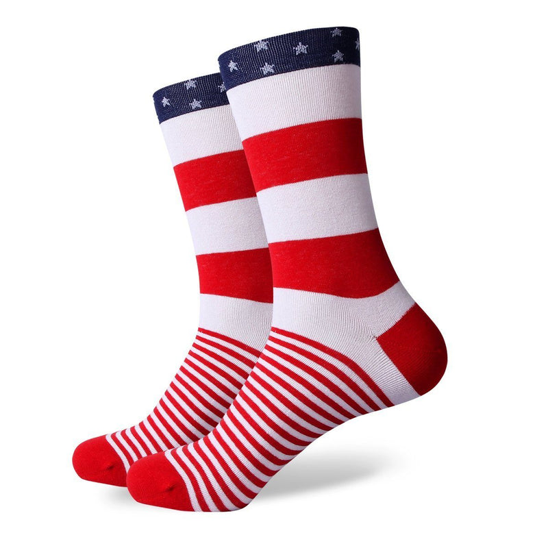 The Patriot Socks | Striped Socks | SoKKs.com