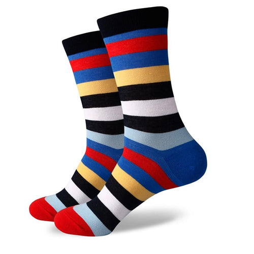 The Hudson Socks | Striped Socks | SoKKs.com