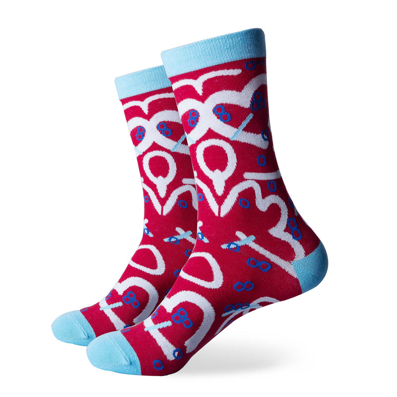 The Love Shack Socks | Novelty Socks | SoKKs.com