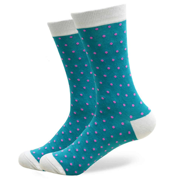The George Socks | Polka Dot Socks | SoKKs.com