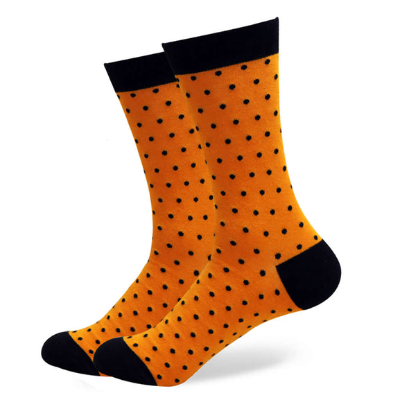 The Trevor Socks | Polka Dot Socks | Fun Dress Socks | SoKKs.com