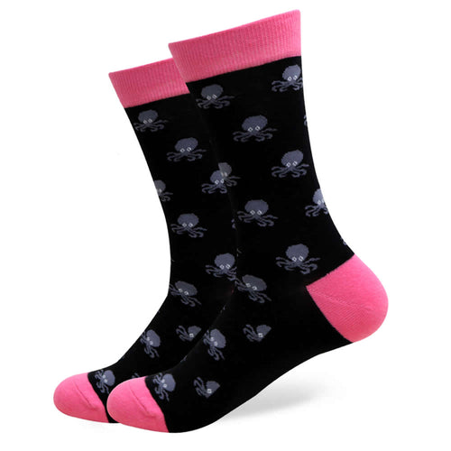 Octopus Socks | Novelty Socks | Fun Dress Socks | SoKKs.com