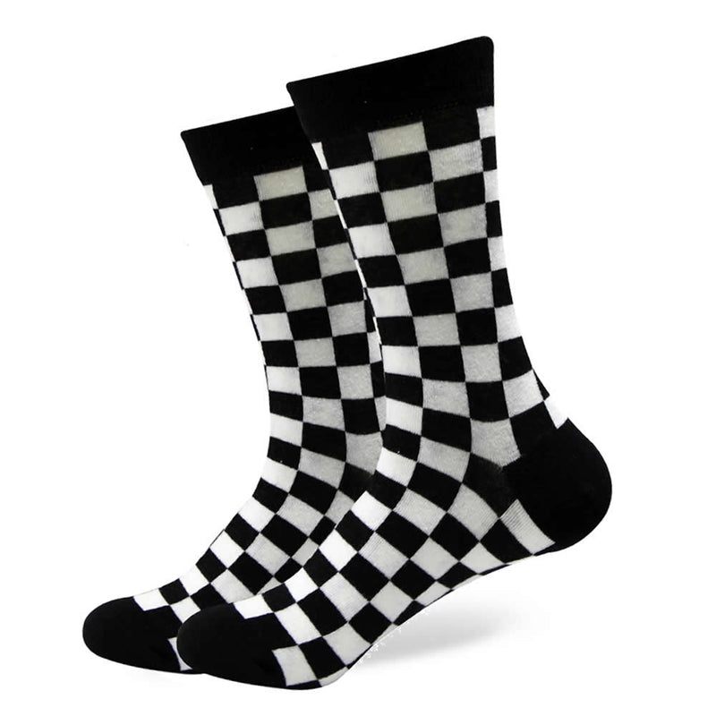 Checker Socks | Pattern Socks | Fun Dress Socks | SoKKs.com