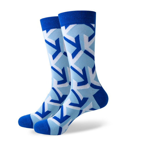 The Carolina Socks | Pattern Socks | SoKKs.com