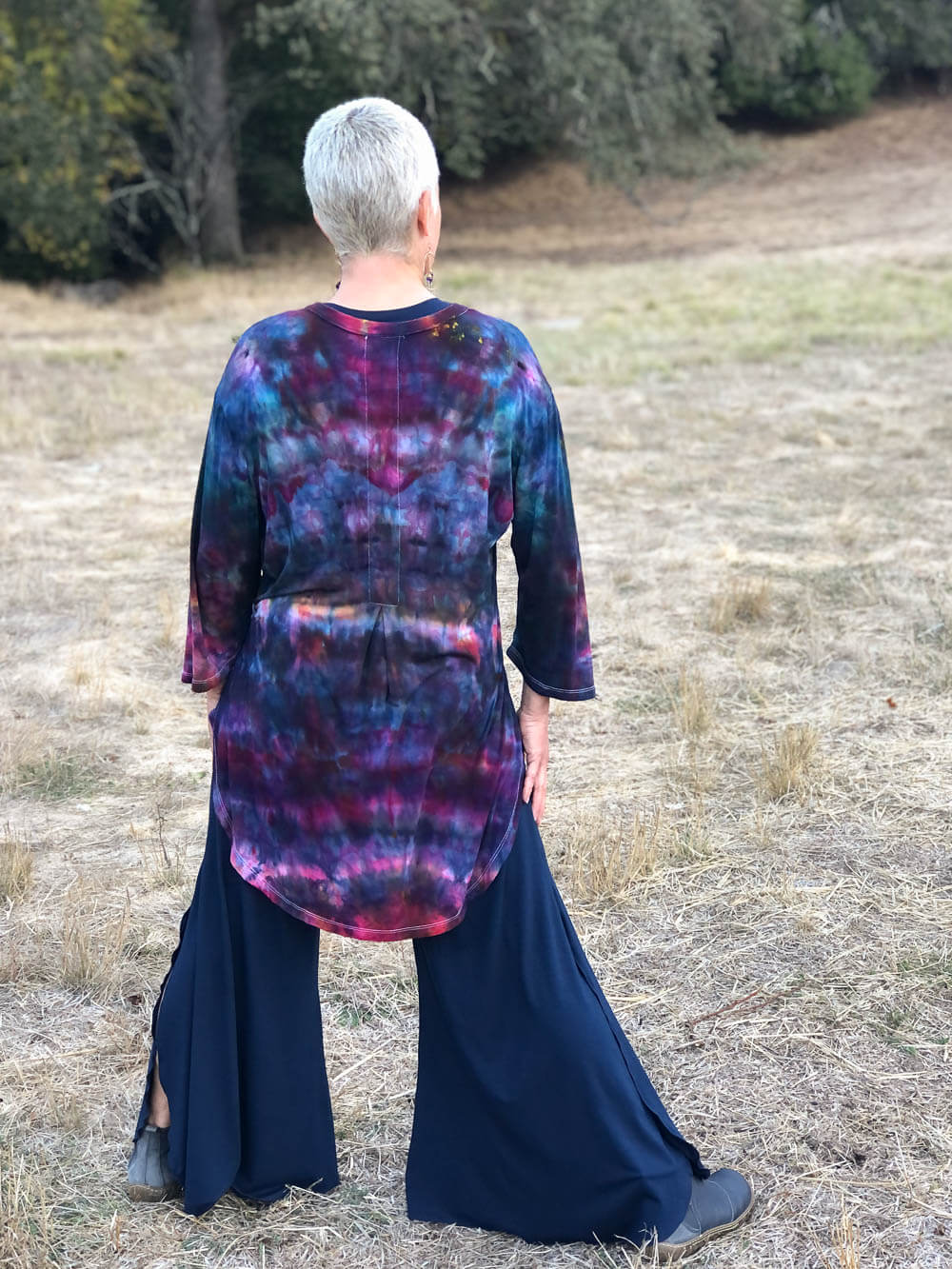 Ice Dye Kurta Tunic