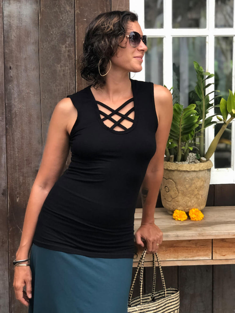 Criss Cross Top : Sample Run