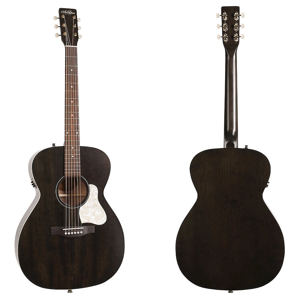 Art & Lutherie Legacy Faded Black Q1T Westerngitarre