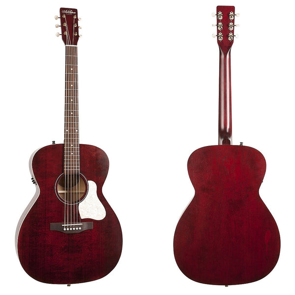Art & Lutherie Legacy Tennessee Red Q1T Westerngitarre