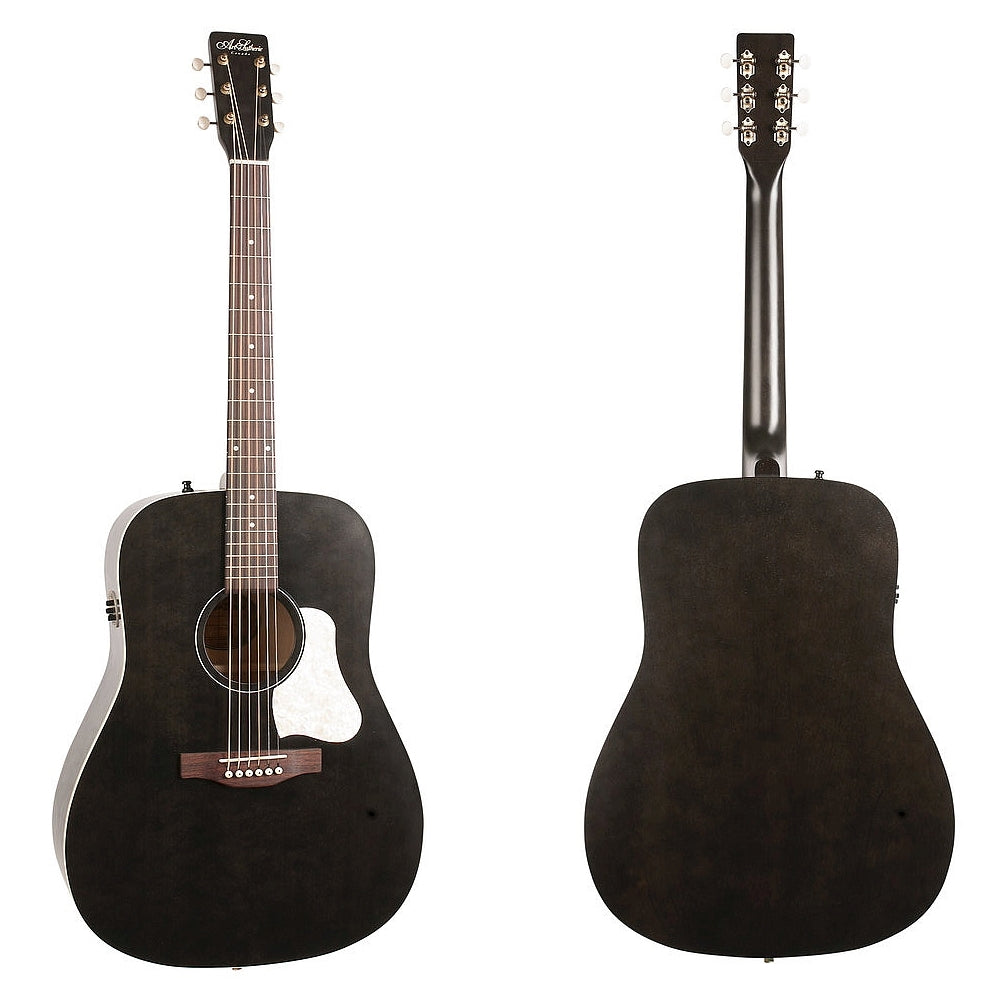 Art & Lutherie Americana Faded Black Q1T Westerngitarre
