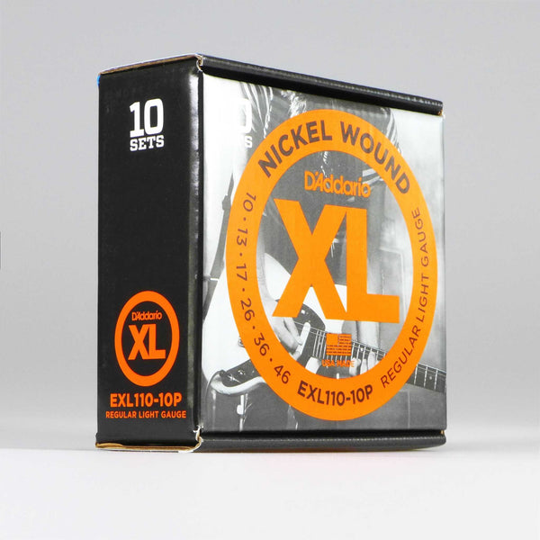 D'Addario EXL110-10P Regular Light (10er Pack)