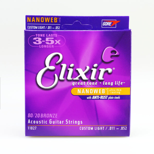 Elixir 11027 Nanoweb Custom Light
