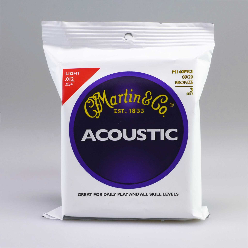Martin M140PK3 Light (3er Pack)