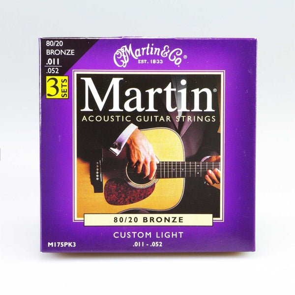 Martin M175PK3 Custom Light (3er Pack)