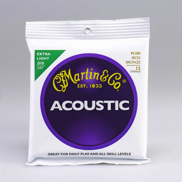 Martin M180/12 Strings Extra Light