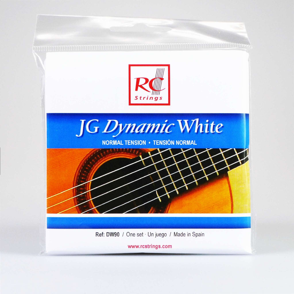 RC Strings JG Dynamic White DW90 Coated Medium Tension
