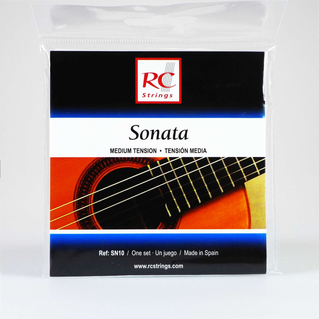 RC Strings Sonata SN10 Coated Medium Tension