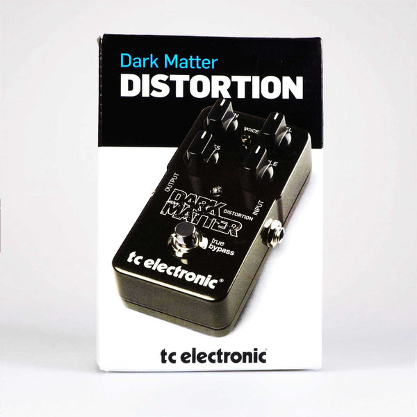 tc electronic dark matter distortion gitarren effekte distortion overdrive. Black Bedroom Furniture Sets. Home Design Ideas