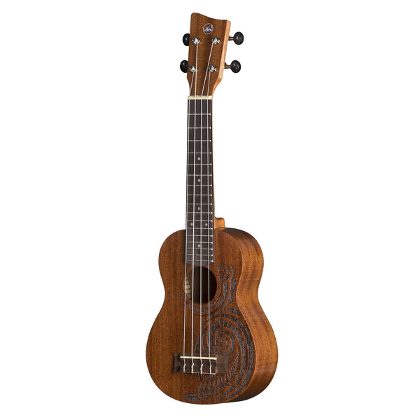 VGS Manoa Kaleo Tattoo KT-SO-MAORI Sopran Ukulele (ohne Gig Bag)