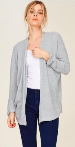 Brooklyn Cardigan, Grey