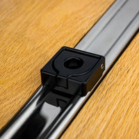 Classic Truck Bed Rail Hook Anodized Black