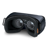 Bionik Face Pad VR for Samsung Gear VR on headset alternate angle view