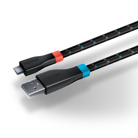 Bionik LYNX charge cable for Nintendo Switch connector tips