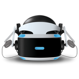 Mantis VR headset on PlayStation VR front view