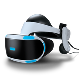 Mantis VR headset on PlayStation VR front angle view