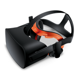 Bionik Face Pad VR for Oculus Rift going into headset