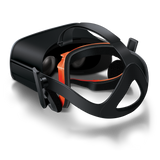 Bionik Face Pad VR for Oculus Rift in headset rear view