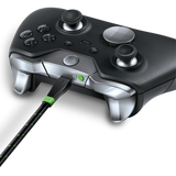 Bionik LYNX charge cable for Xbox One charging controller angle view