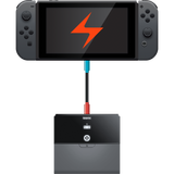 Power Plate charging Nintendo Switch