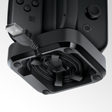 Tetra Power charge dock for four Joy-Con controllers showing cable management system