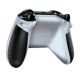 Bionik Quickshot white on Xbox One controller rear view