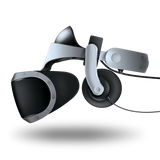 Over-Ear Pads for Mantis for PS4 VR on PS4 VR headset