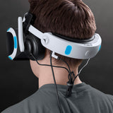 Over-Ear Pads for Mantis for PS4 VR on person back view