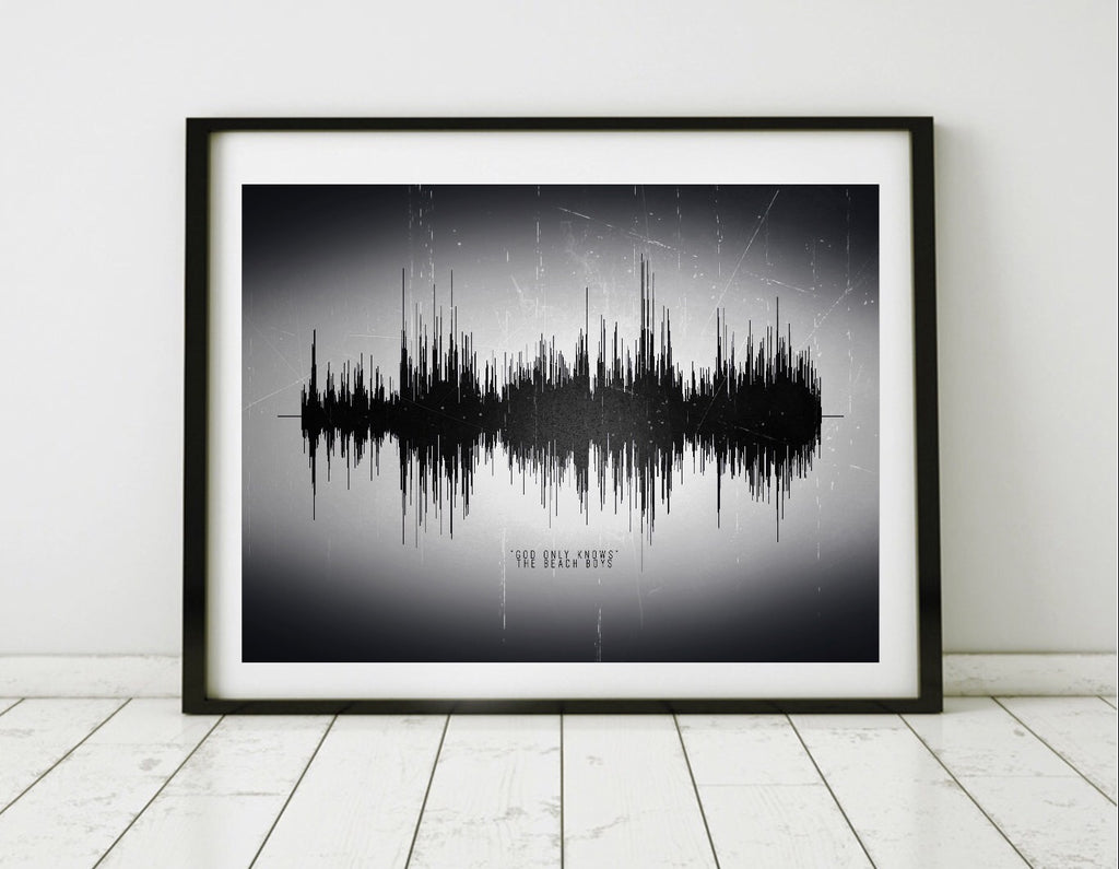 Soundwave Print on Canvas | CANVAS