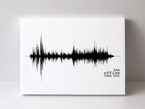 The Office Theme Song Print | PREMADE
